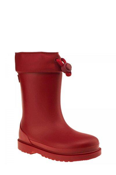 W10100 Chufo Cuello-005 Kırmızı Unisex Çocuk Yağmur Çizmesi 100386301