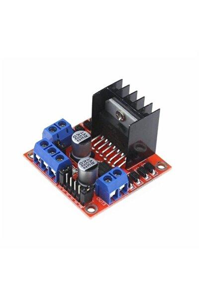 L298n Voltaj Regulatörlü Çift Motor Sürücü Kartı , Raspberry