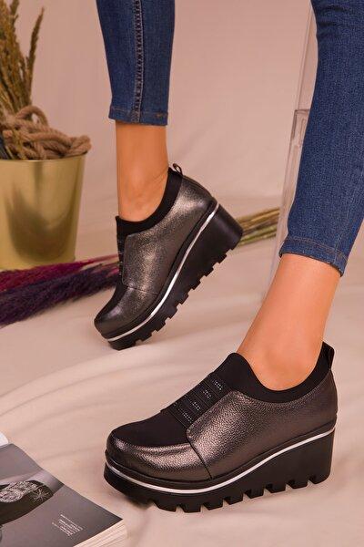 Platin Kadın Casual Ayakkabı 16227