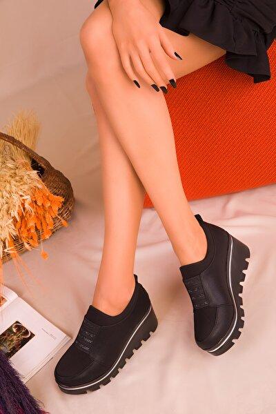 Siyah Kadın Casual Ayakkabı 16227