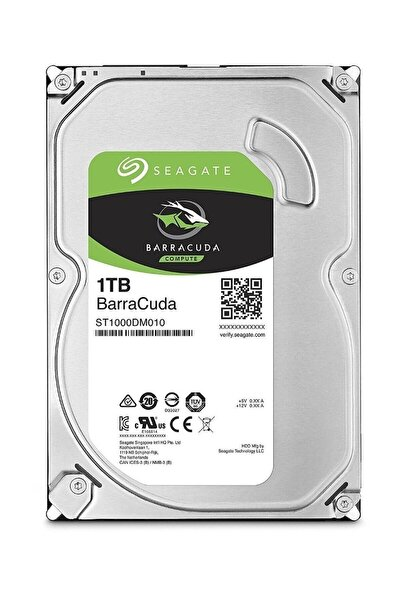 Barracuda 64mb 1tb 3.5 Harddisk St1000dm010 10021754
