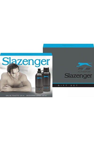 Active Sport Mavi 125 ml Erkek Parfüm ve 150 ml Deodorant Set