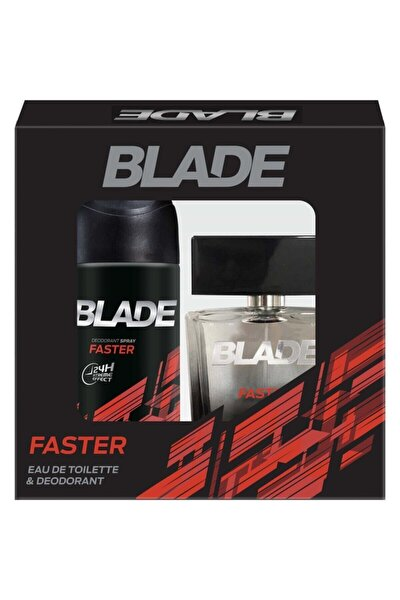 Faster Edt 100 ml + 150 ml Deodorant Erkek Parfüm Seti 8690586015639