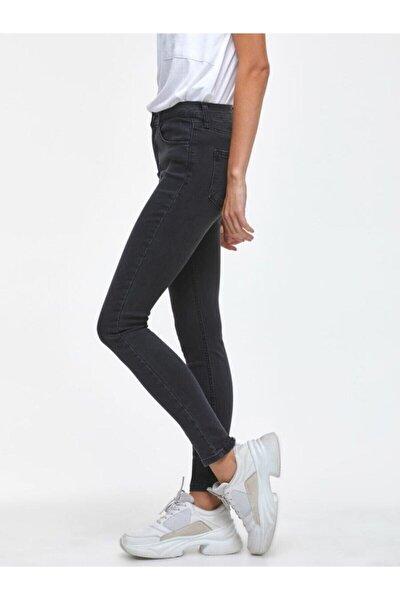 Kadın Siyah Tanya X Antracıte Wash Pantolon