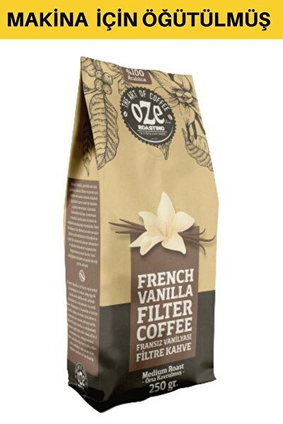 Vanilya Aromalı Filtre Kahve 250 Gr. (makina Için Öğütülmüş )