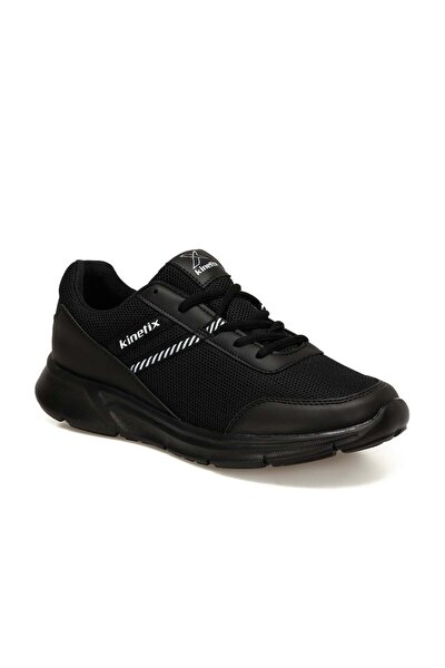 Erkek Hafif Tabanlı Günlük Spor Ayakkabısı - Siyah - Btmz000342-siyah-44