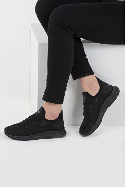 024 Siyah Siyah Erkek Spor Ayakkabı