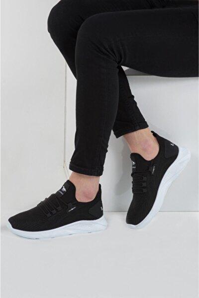 024 Siyah Beyaz Erkek Spor Ayakkabı