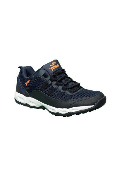 21088 Erkek Günlük Yürüyüş Spor Ayakkabı Rahat Siyah-mavi 41