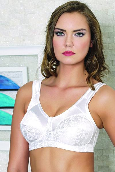 Kadın Beyaz Toparlayıcı Sütyen MML10527