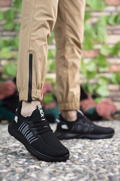Unisex Siyah Siyah Sneaker 0012375