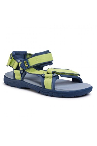 4040061 Seven Seas 3 K Lime/blue Kadın Sandalet