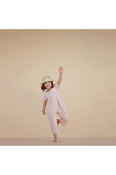 Kız Çocuk Pudra Tulum