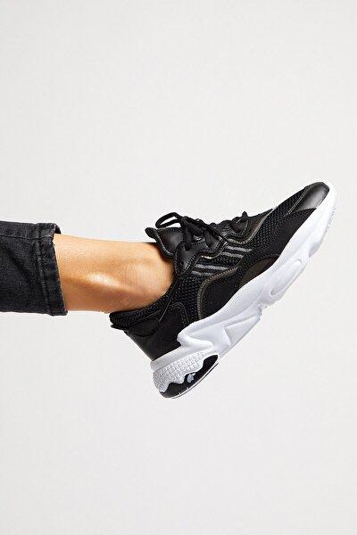 Unısex Spor Ayakkabı Siyah Beyaz Tb248 -> 39 -> Siyah Beyaz