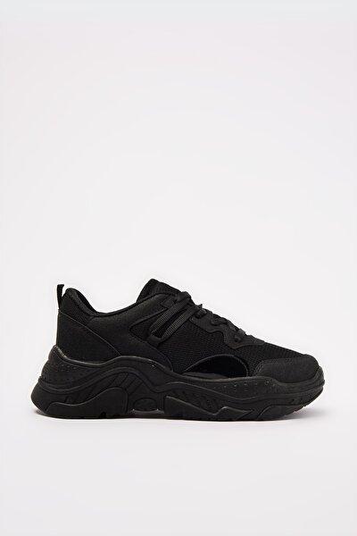 Siyah Kadın Sneaker 01AYY213460A100