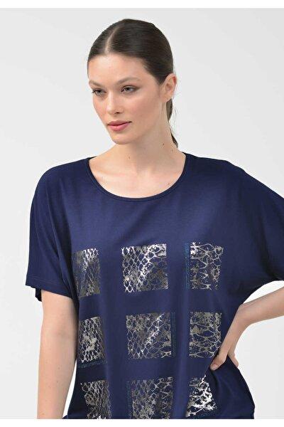 - 20y1192 Taş Detaylı Örme Bluz