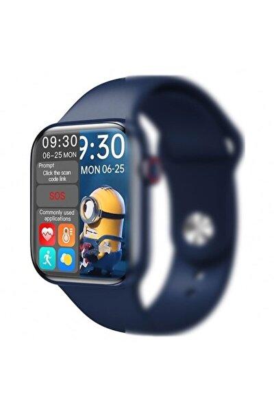 Hw16 Akıllı Saat Watch 6 Pro Yan Tuş Aktif 44 Mm Spor Saat