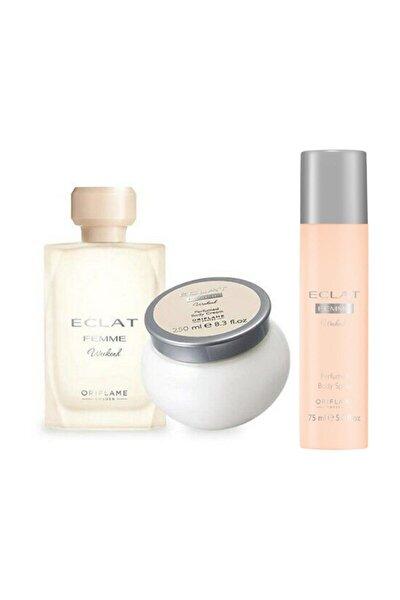 Eclat Femme Weekend Edt 50 ml Kadın Parfüm Seti 869965236521426