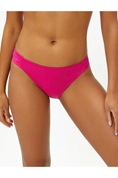 Kadın Pembe Düz Bikini Altı 9YAK88351OM