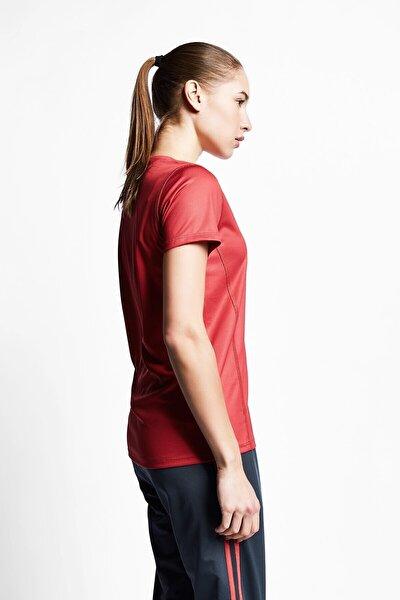 Kadın Tarçın Renk Kadın T-shirt 21s-2204-21b