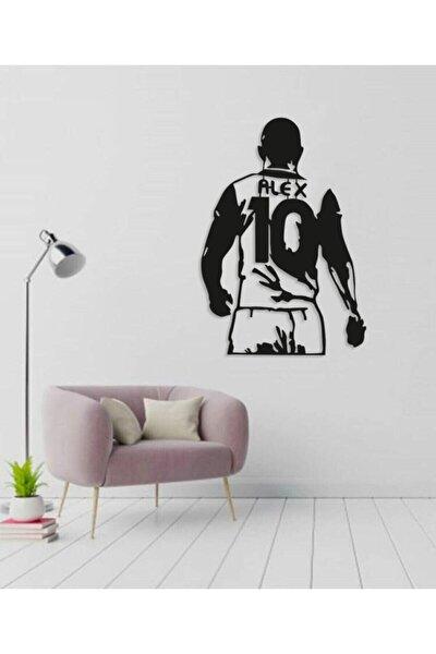 Alex De Souza Duvar Dekoru Siyah Ahşap Lazer Tablo Mdf