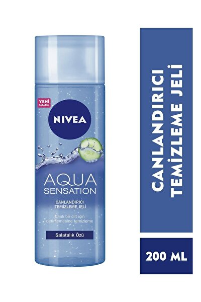 Aqua Sensatıon Canlandırıcı Yüz Temizleme Jeli Normal/Karma 200 ml