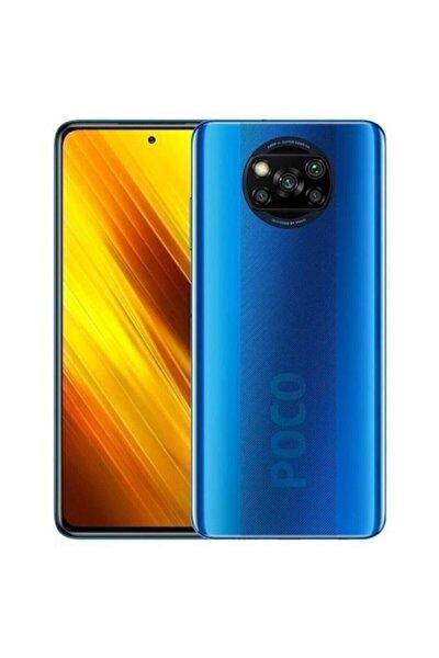 X3 NFC 64GB Mavi Cep Telefonu (Xiaomi Türkiye Garantili)