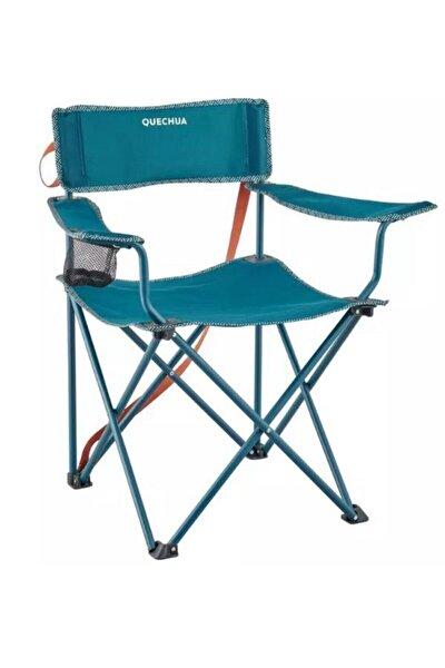 Mavi Katlanabilir Kamp Ve Piknik Sandalyesi