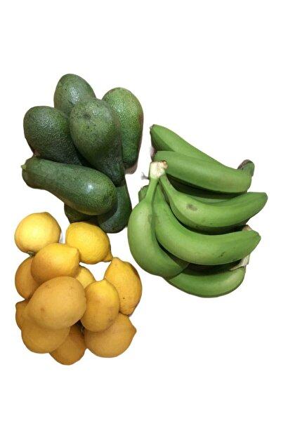 Avokado (1kg) ,limon (2kg) ,muz (2kg) Taptaze Ürünler