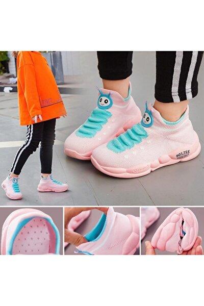 Çocuk Pembe Ortopedik Ayakkabısı