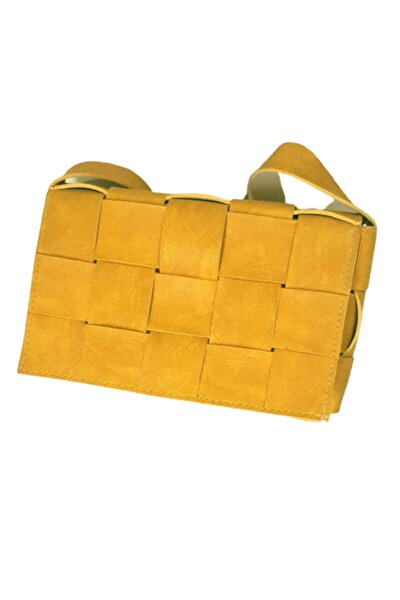 Hardal Sarısı Omuz Kadın Çanta