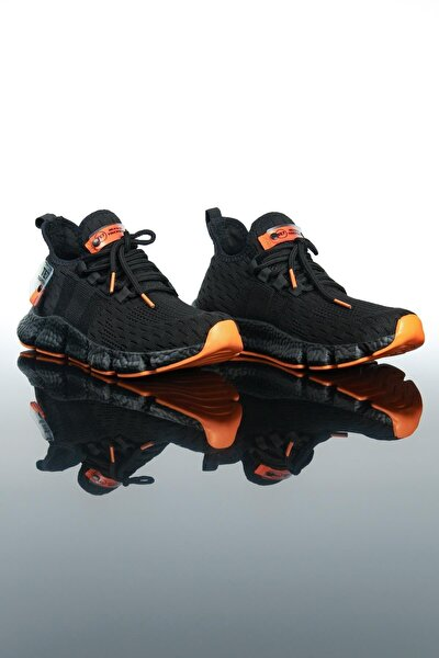Erkek Siyah Spor Ayakkabı Te7