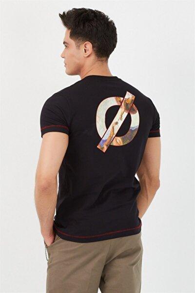 Tablo Baskılı Erkek T-shirt