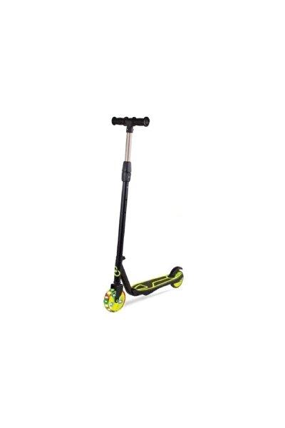 Yeşil Cool Wheels 2 Tekerli Işıklı Ayarlanabilir Scooter