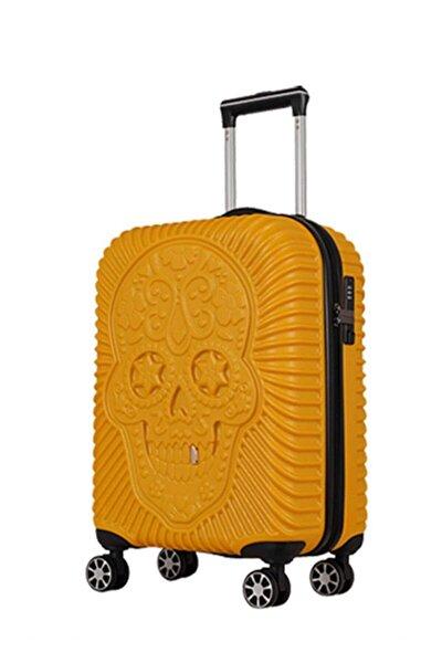 Sarı Unisex Kabin Boy Valiz 1247589006197