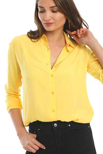 Kadın Sarı Gömlek