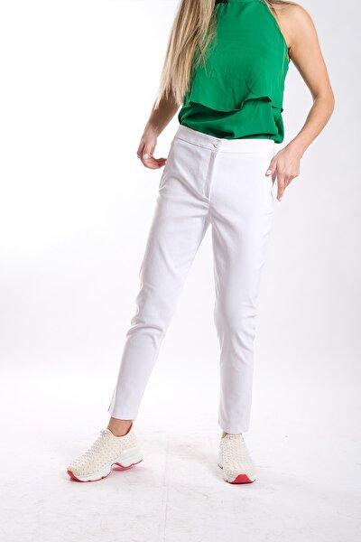 Kadın Bengalin Kumaş Pantolon