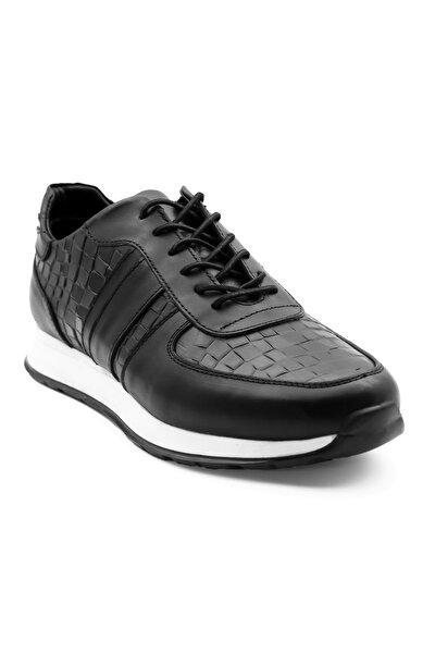 Erkek Deri  Siyah Ayakkabı