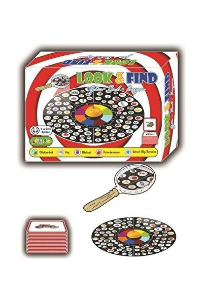 Look Find, Look Look, Dedektif, Dikkat Oyunu, Görsel Hafıza Oyunu