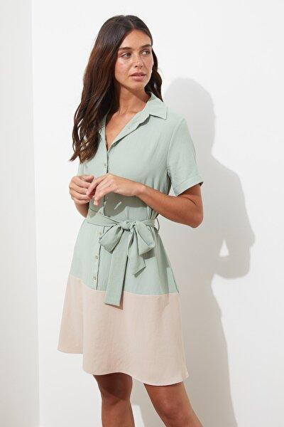 Mint Kuşaklı Elbise TWOSS21EL2308