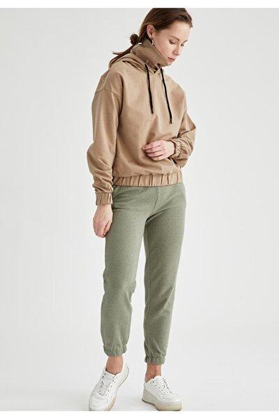Bağcıklı Relax Fit Jogger Pantolon