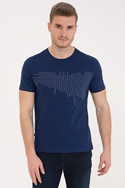 Lacıvert Erkek T-Shirt G021SZ011.000.1208926