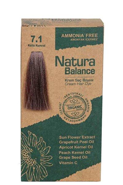 Natura Balance Saç Boyası - Organik Sertifikalı Küllü Kumral 7.1 8699367128025