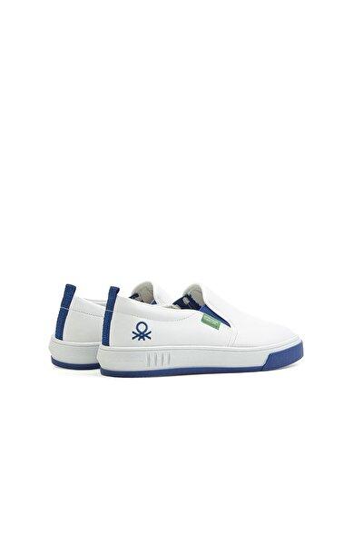 Bn-30262 Beyaz-mavi Erkek Spor Ayakkabı