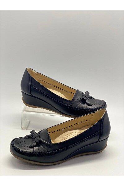 Kadın Siyah Tam Ortopedik Ayakkabı