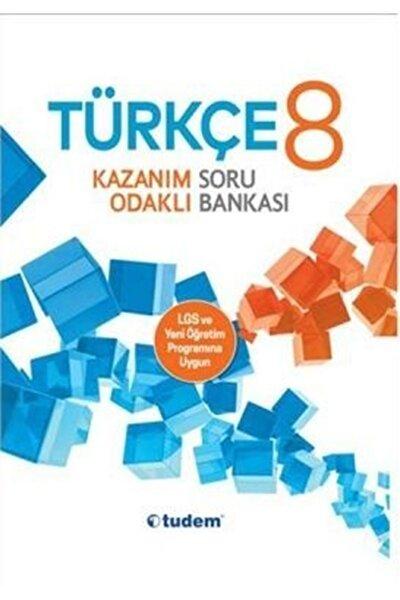 Tudem 8.sınıf Türkçe Kazanım Odaklı Soru Bankası
