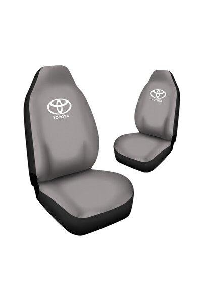Toyota Corolla Araca Özel Oto Koltuk Kılıfı Pro - Gri ( Yeni Tasarım - Yeni Fit Kalıp )