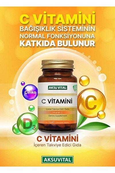 C Vitamini Aksuvital 1250 Mg 60 Kapsül