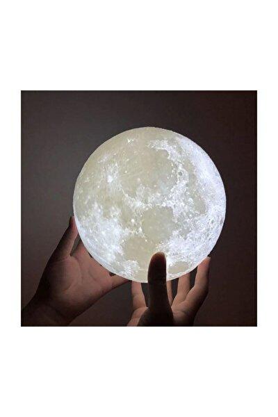 3d Standlı Ay Gece Lambası