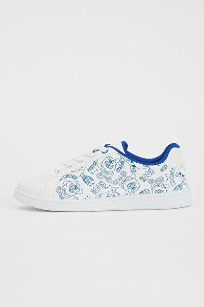 Erkek Çocuk Baskılı Sneakers Ayakkabı